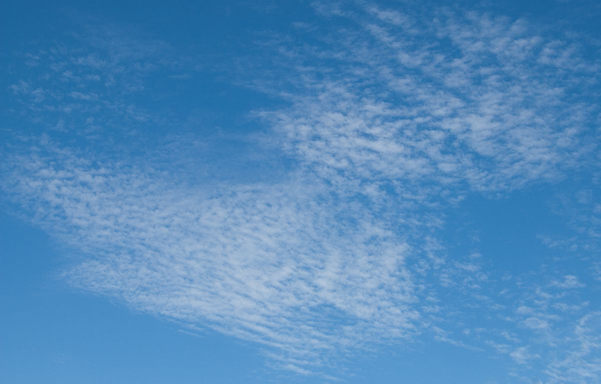 Πηγή: https://en.wikipedia.org/wiki/Cirrocumulus_cloud#/media/File:Cirrocumulus_clouds_Thousand_Oaks_July_2010.jpg